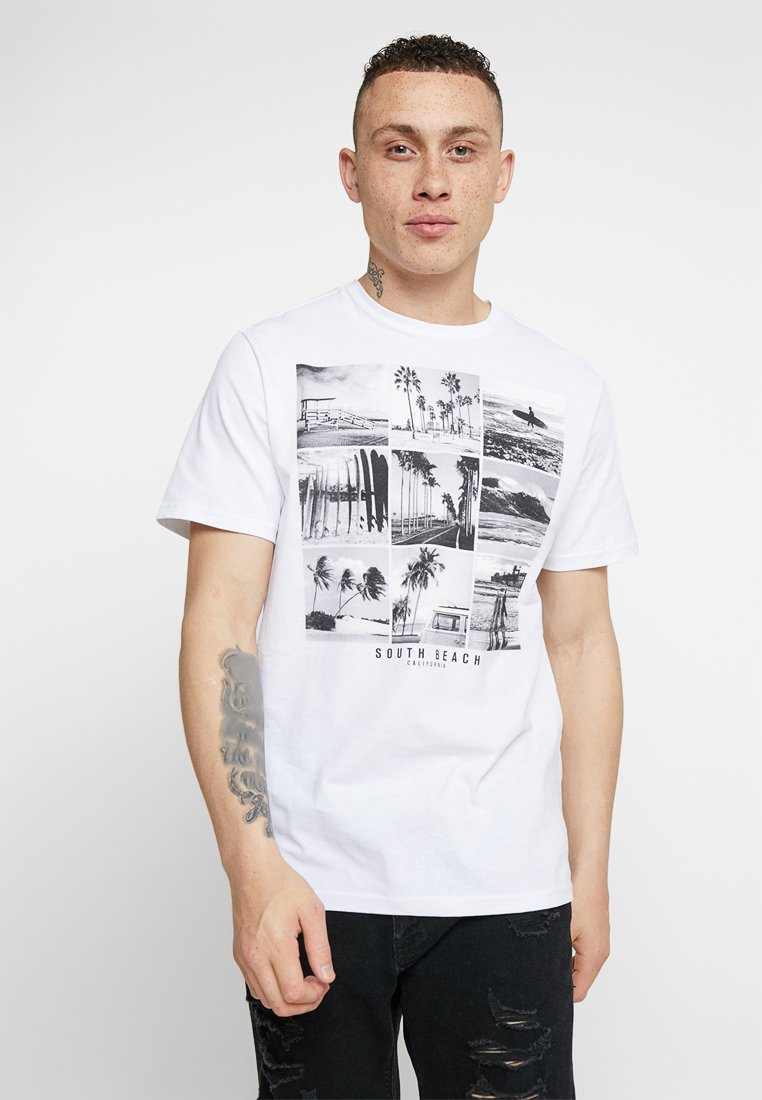 Only & Sons - ONSBF  - T-Shirt print - white