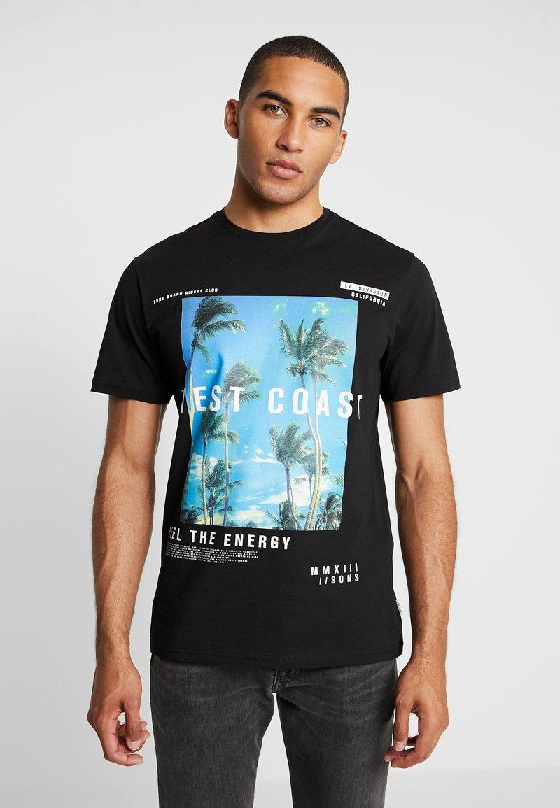 Only & Sons - ONSBF  - T-Shirt print - black