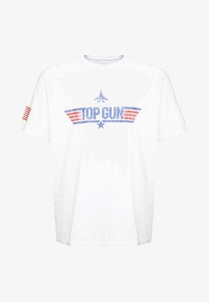 ONSPITTSBURG TOP GUN TEE - T-shirts print - white