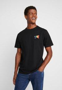Only & Sons - ONSVP TEE - T-shirt z nadrukiem - black - 0