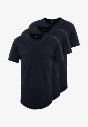 ONSMATT LONGY TEE 3 PACK - T-shirt basique - dark navy
