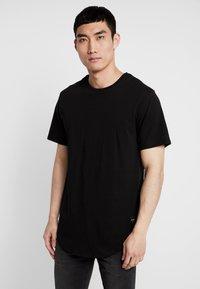 Only & Sons - ONSMATT LONGY TEE 3 PACK - T-shirts - black - 1
