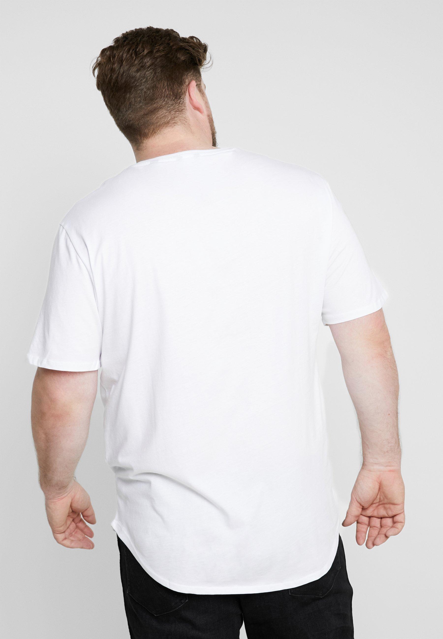 Only & Sons Onsmatt Longy Tee 3-pack - T-shirt Bas White/black/light Grey Melange