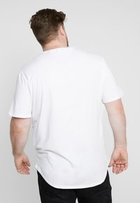 Only & Sons - ONSMATT LONGY TEE 3-PACK - Jednoduché triko - white/black/light grey melange - 2