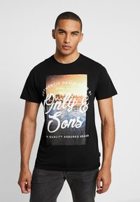 Only & Sons - ONSBF REG SONS TEE - T-shirt print - black - 0