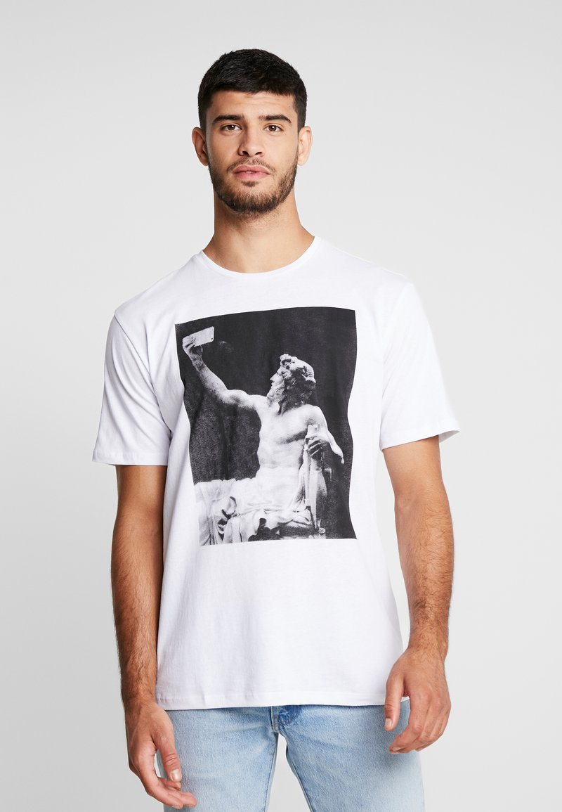 Only & Sons - ONSGAVIN - T-shirt print - white