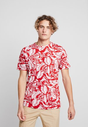 ONSGOBBER TEE - Printtipaita - pompeian red
