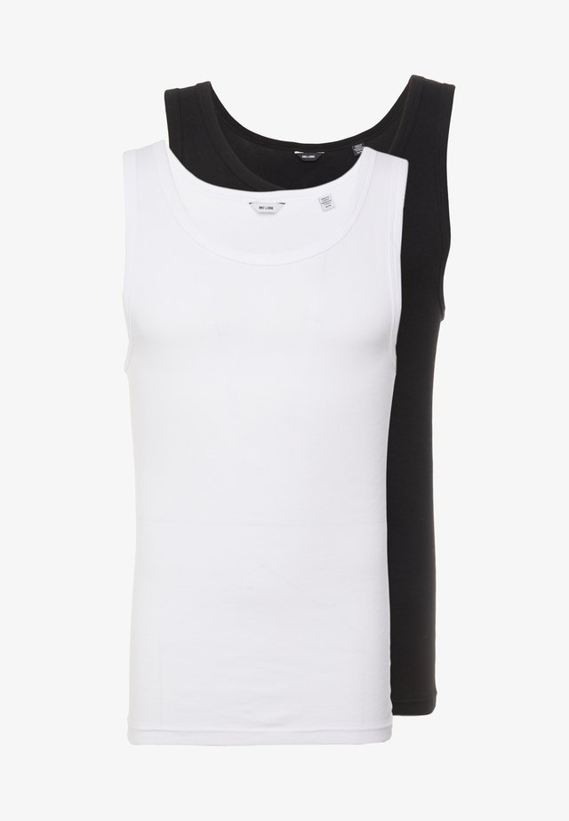 ONSNATE REG TANK 2PACK - Top - black/white