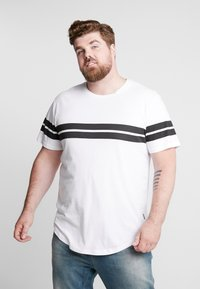 Only & Sons - ONSBIKE LONGY TEE  - T-shirts med print - white - 0
