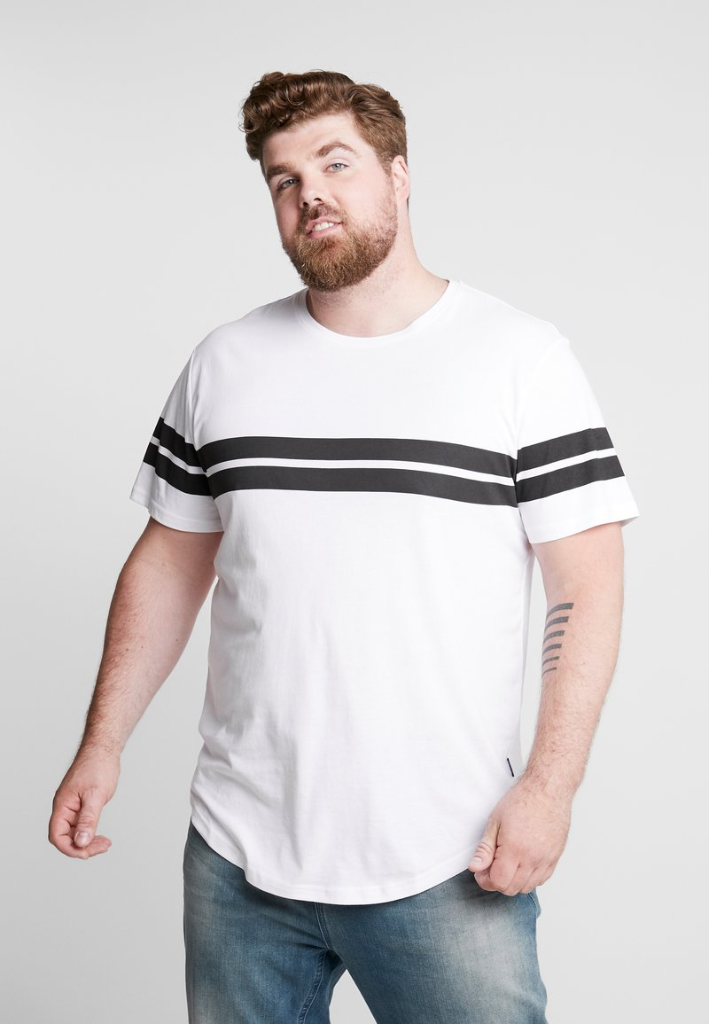 Only & Sons - ONSBIKE LONGY TEE  - T-shirts med print - white