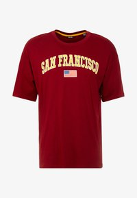 Only & Sons - ONSTIGER TEE - Print T-shirt - cabernet - 3