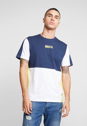 ONSKASHI REG TEE - Camiseta estampada - blazing yellow