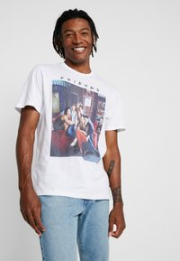Only & Sons - ONSFRIENDS TEE - T-shirt print - white - 0