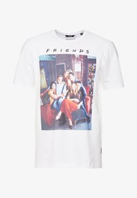 Only & Sons - ONSFRIENDS TEE - T-shirt print - white - 3