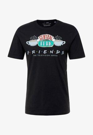 ONSFRIENDS TEE - T-Shirt print - black