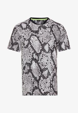 ONSSNAKE TEE - Print T-shirt - white