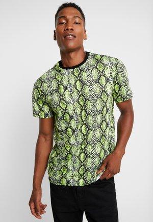 ONSSNAKE TEE - T-shirt med print - mallard green