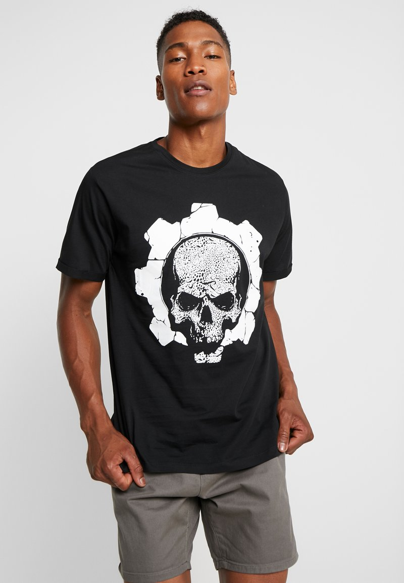 Only & Sons - ONSFIGHTER TEE - T-shirt con stampa - black