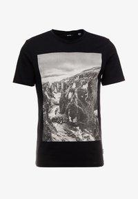 Only & Sons - ONSBROCK  - T-Shirt print - black - 3