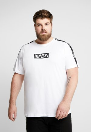 ONSNASA LICENSE TEE REGULAR FIT - T-shirts med print - white