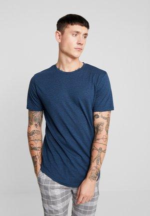 ONSMARTIN LONGY TEE - T-shirt basique - insignia blue
