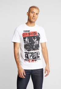 Only & Sons - ONSSEXPISTOLS TEE - T-shirts med print - white - 0