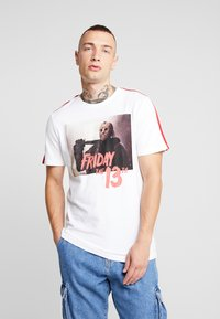 Only & Sons - ONSFRIDAY TEE - T-shirts med print - white - 0