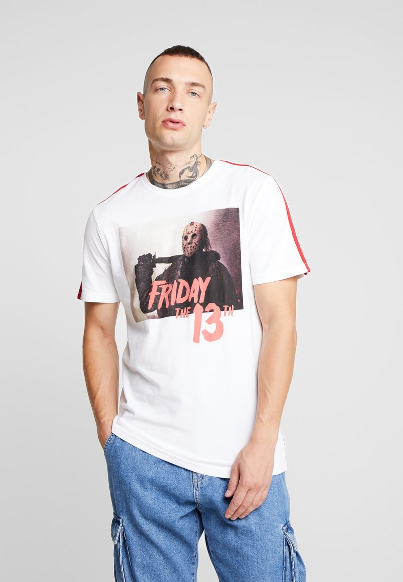 Only & Sons - ONSFRIDAY TEE - T-shirts med print - white
