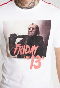 Only & Sons - ONSFRIDAY TEE - T-shirts med print - white - 4