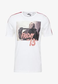Only & Sons - ONSFRIDAY TEE - T-shirts med print - white - 3