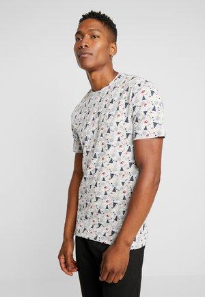 ONSAKASUT TEE - T-shirts med print - light grey melange