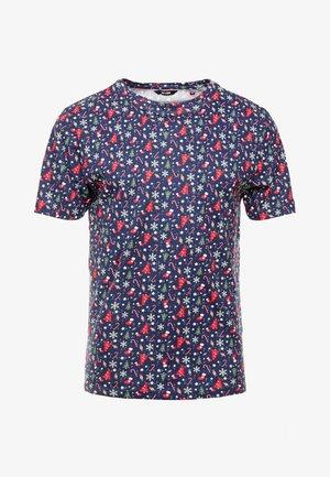ONSAKASUT TEE - T-shirt med print - dark navy