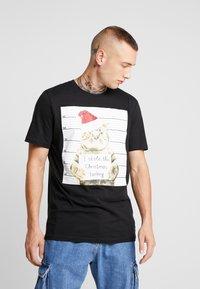 Only & Sons - ONSMMAR TEE - T-Shirt print - black - 0