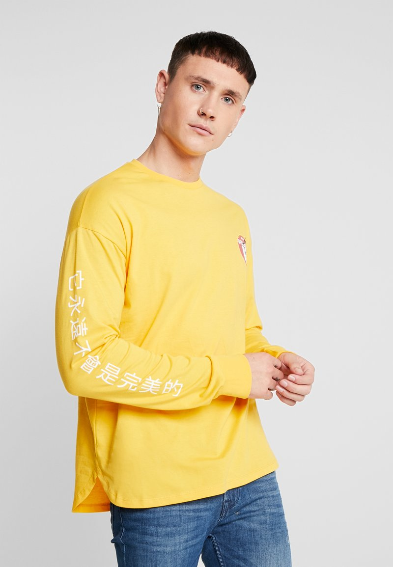 Only & Sons - ONSMO TEE - Maglietta a manica lunga - citrus