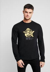 Only & Sons - ONSMO TEE - Long sleeved top - black - 0