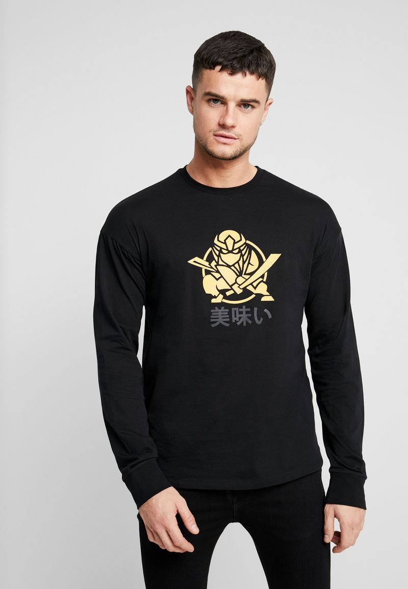 Only & Sons - ONSMO TEE - Long sleeved top - black