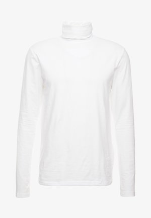 ONSMICHAN SLIM ROLLNECK TEE - Top sdlouhým rukávem - white