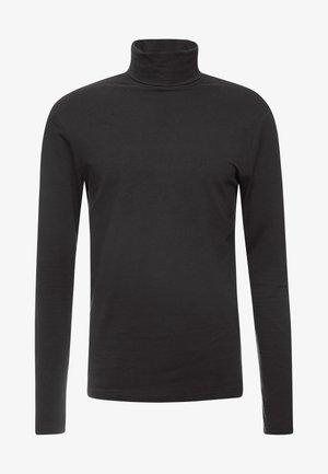 ONSMICHAN SLIM ROLLNECK TEE - Top sdlouhým rukávem - black