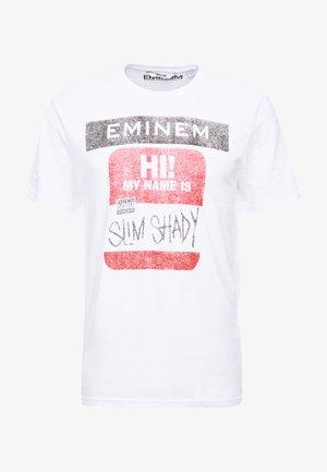ONSEMINEM TEE - T-Shirt print - white