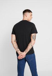 Only & Sons - ONSEMINEM TEE - T-Shirt print - black - 2