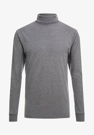 ONSESSAY ROLLNECK TEE - Top sdlouhým rukávem - dark grey melange