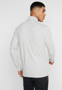 Only & Sons - ONSESSAY ROLLNECK TEE - Long sleeved top - light grey melange - 2