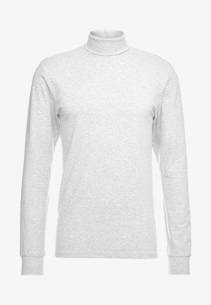 ONSESSAY ROLLNECK TEE - Pitkähihainen paita - light grey melange