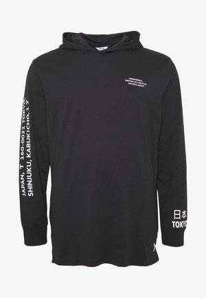 ONSWF DEAN HOODIE - Langærmede T-shirts - black