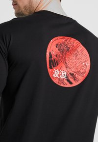 Only & Sons - ONSKAITO TEE - Print T-shirt - black - 4