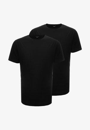 ONSMATT LONGY TEE 2 PACK - T-shirts - black