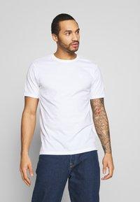 Only & Sons - ONSORGANIC - Basic T-shirt - white - 0