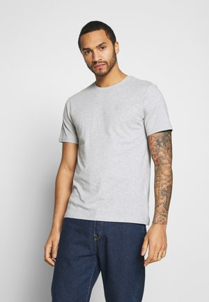 ONSORGANIC - T-shirt - bas - light grey melange