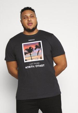 ONSNORTH SLIM TEE - T-shirts print - phantom