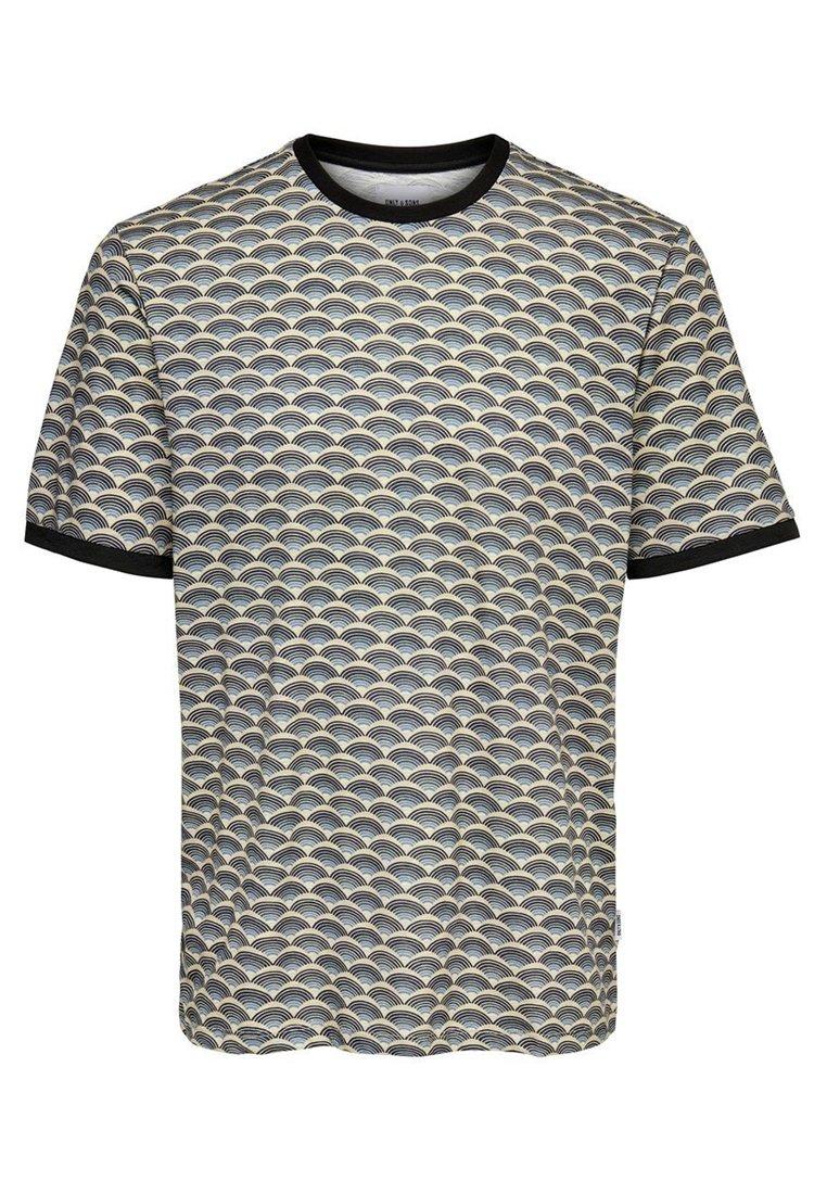 Only & Sons T-shirt z nadrukiem - orion blue